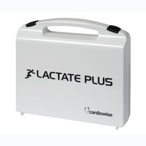 Lactate Plus Maletín de campo, Lactate Plus Field Kit, Outdoor Cas Lactate Plus, Lactate Plus Plastikkoffer