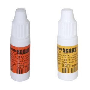 Solución de control Lactate Scout