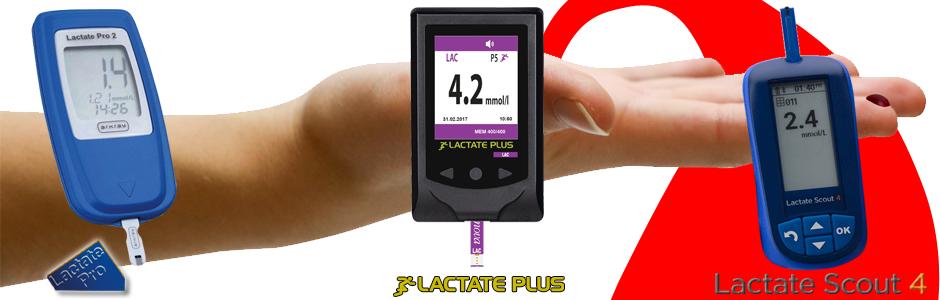 Lactate Scout 4, Lactate Plus y Lactate Pro 2