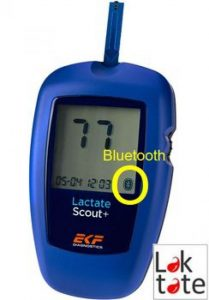 lactate scout + bluetooth